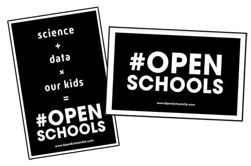 Open Schools Posters